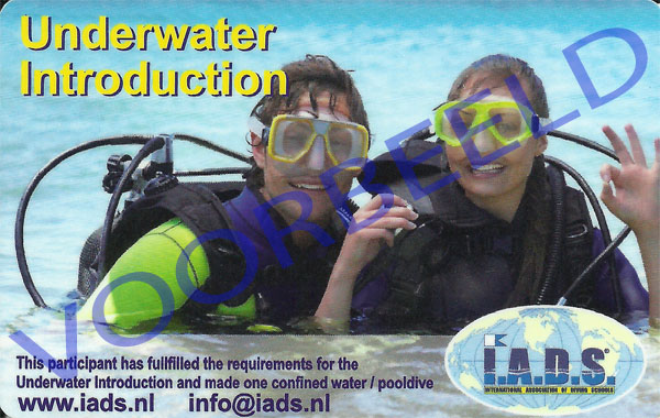 underwater introduction